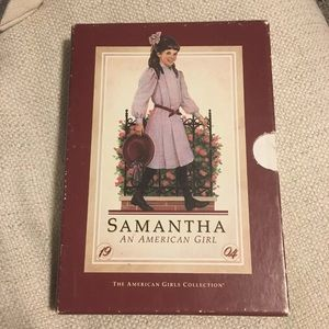 American Girl Samantha Book Set